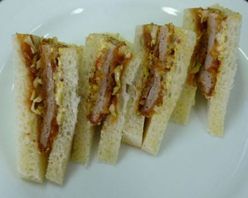 PT Sari Segar Laut Indonesia Cooking Sample - Katsu Sandwich